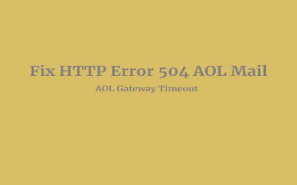 HTTP Error 504