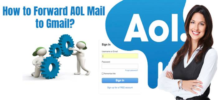 Forward AOL Email to Gmail